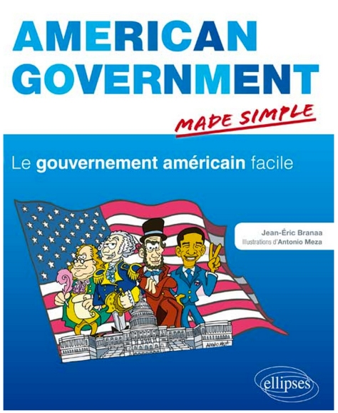 "Cover for ""American Government Made Simple"" by Jean-Eric Branaa"