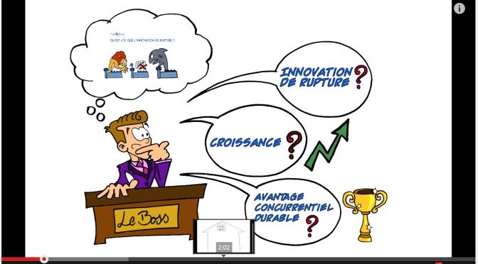 """Illustrating """"L'innovation de rupture pour les nuls"""""""